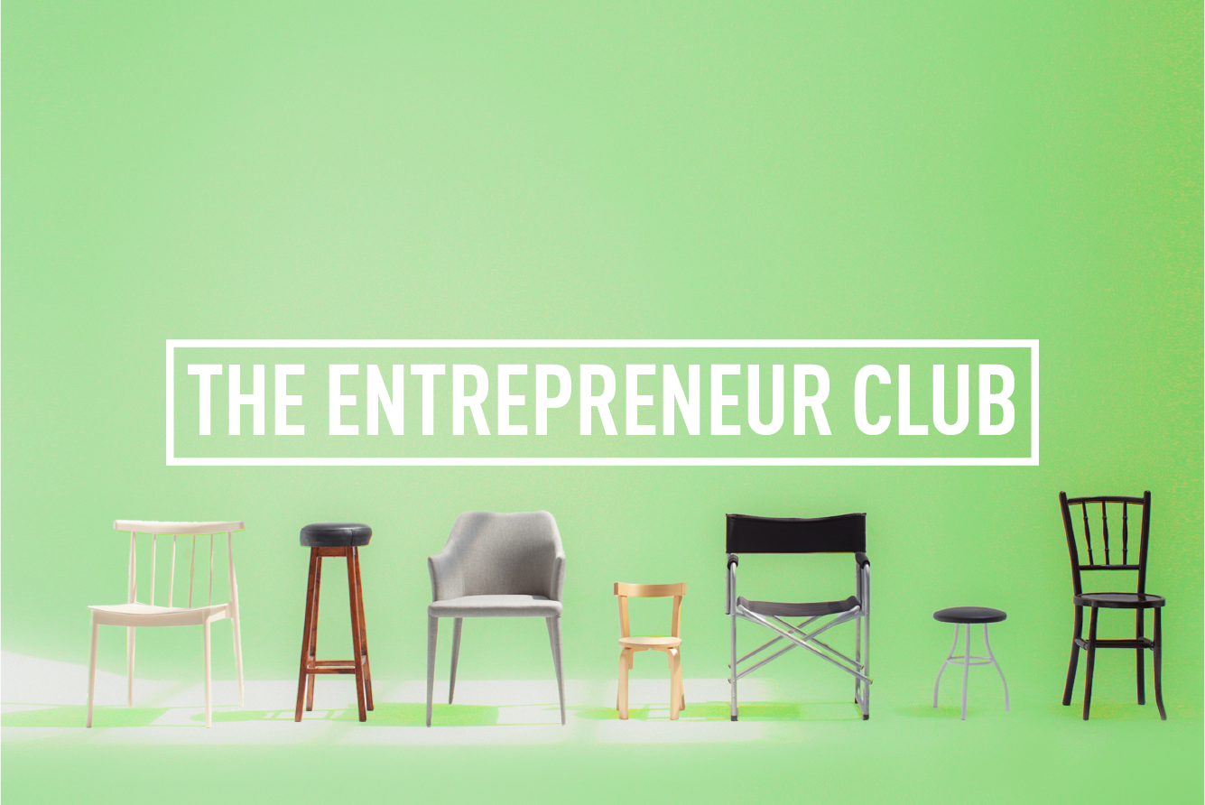The Entrepreneur Club </br> MONTHLY MEET-UP : Wed 27th Sep