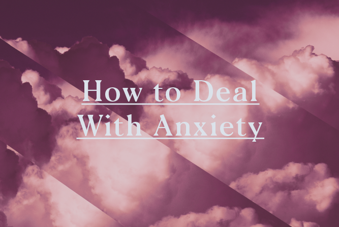 How to Deal With Anxiety <BR> 8 Week Course : Starts 31st May