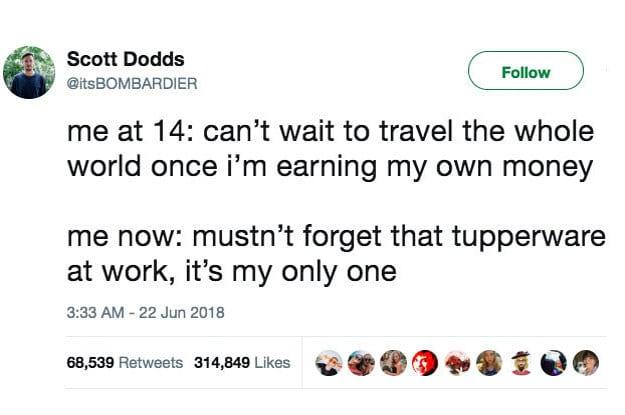 Scott Dodds Tweet