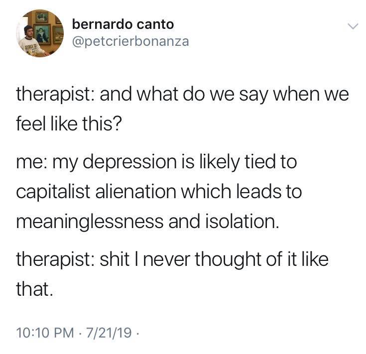 The best 'My Therapist' memes - The Indigo Project